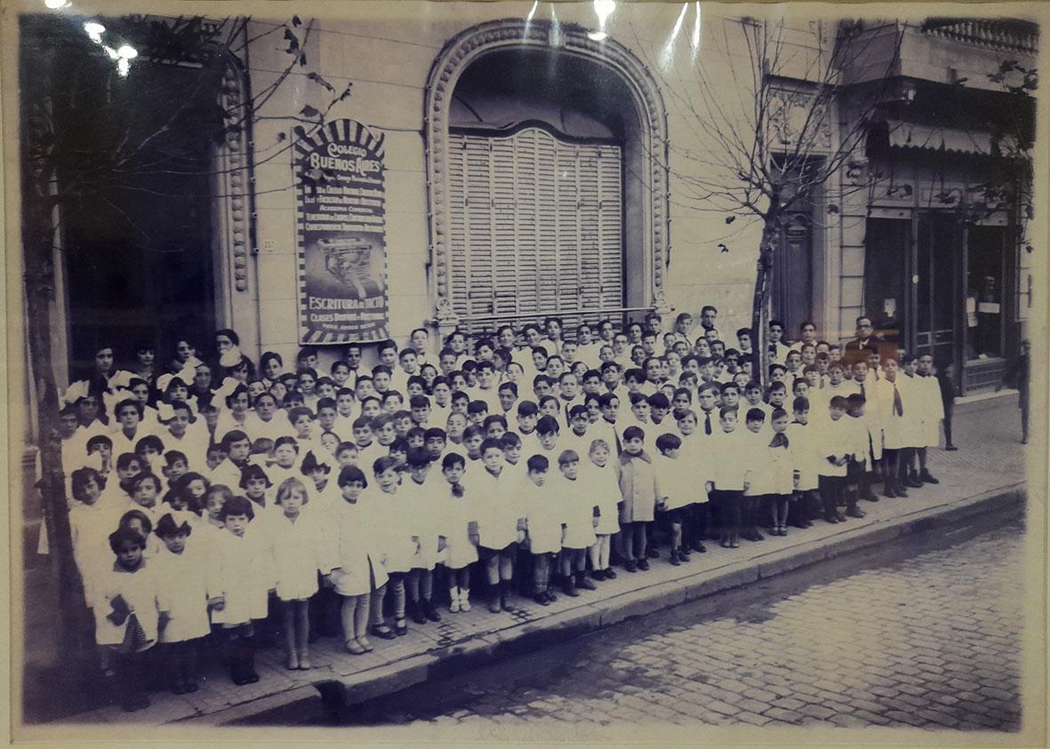 Colegio Buenos Aires Foto histórica