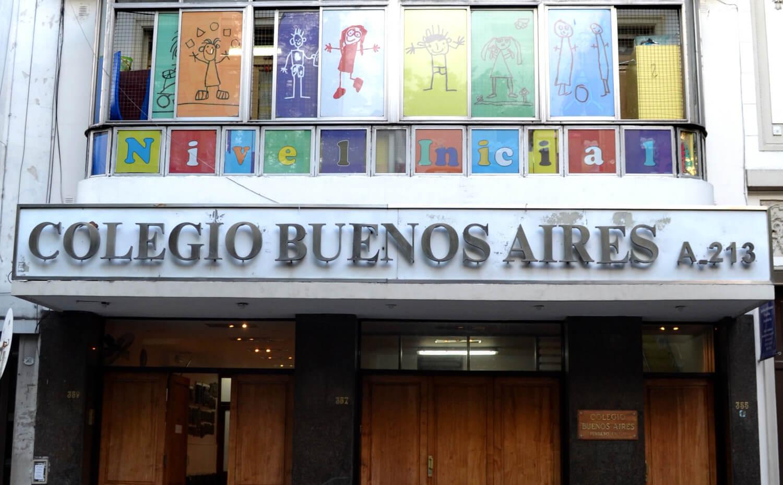 Colegio Buenos Aires - Fachada