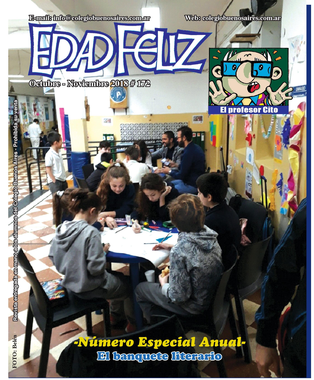 Revista Edad Feliz - Octubre/Noviembre 2018