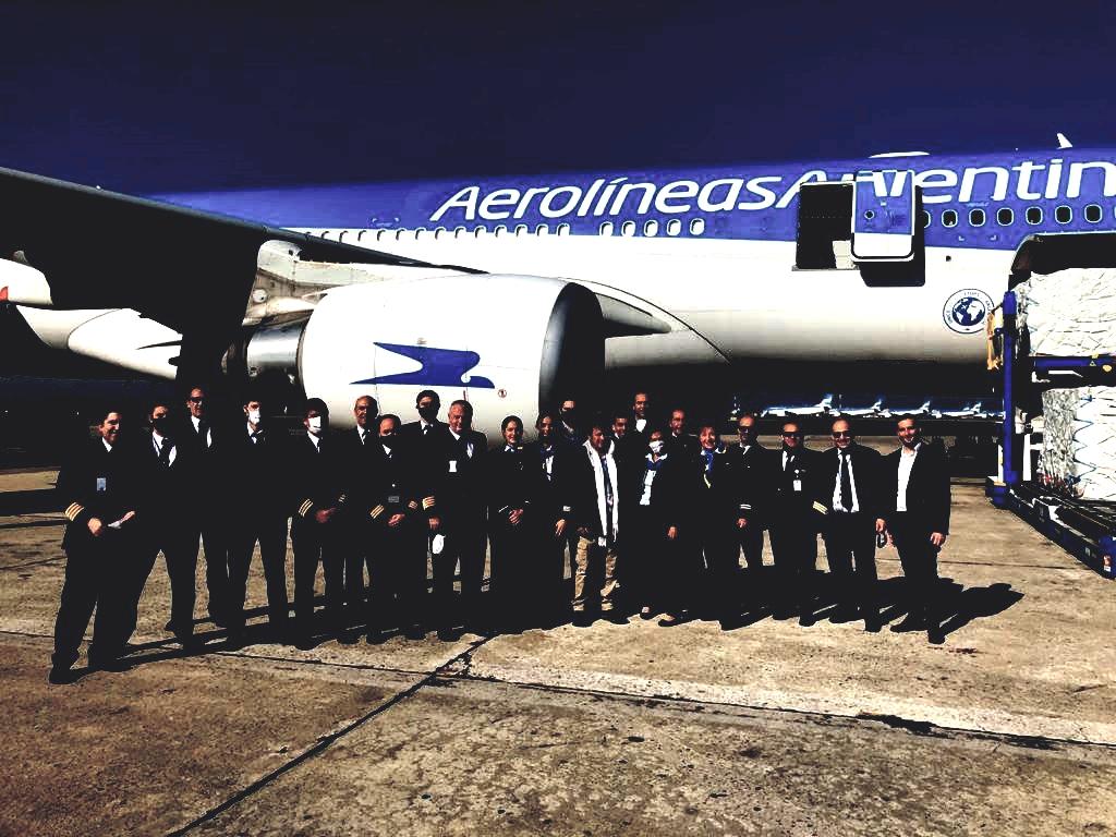 Aerolíneas Argentinas vuela a China