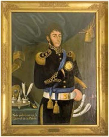 """San Martín, """"El Padre de la Patria"""""""