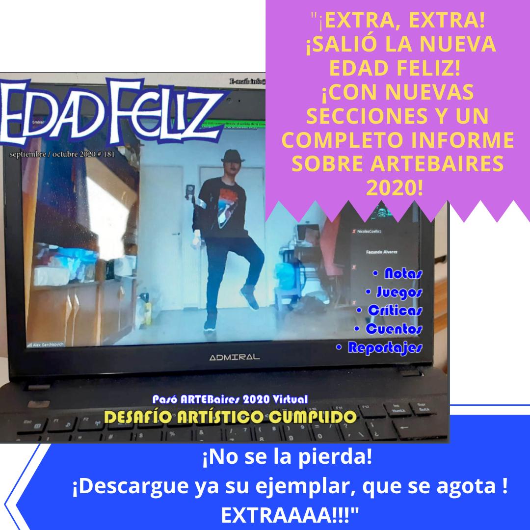 Revista Edad Feliz - Septiembre / Octubre 2020