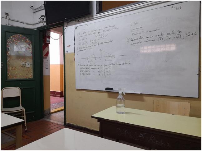 Mesas de Examen